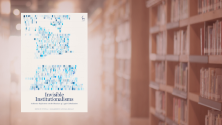 Cover of Invisible Institutionalisms book