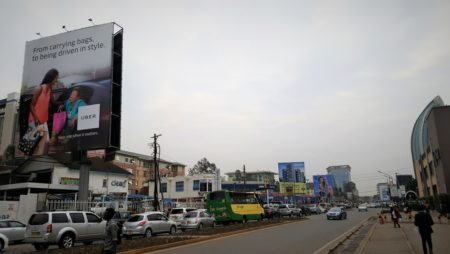 Poster of Uber in Nairobi by Gianluca Iazzolino