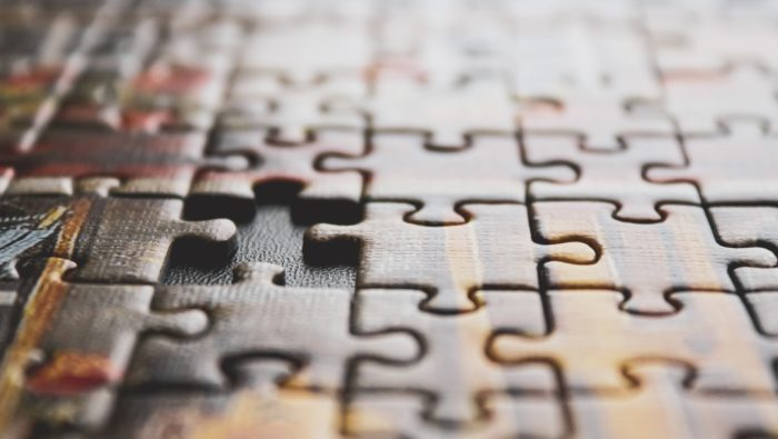 Photograph of a puzzle